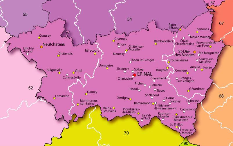 Fermeture inattendue et brutale d'un CMP dans les Vosges : pétition - Page 2 88-vosges-carte